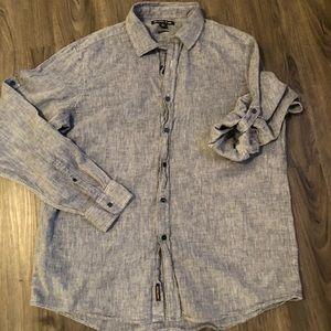Michael kors button up collared shirt